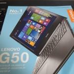 Lenovo G50オフィス付きを付属品と3年保証で42%OFFで注文した